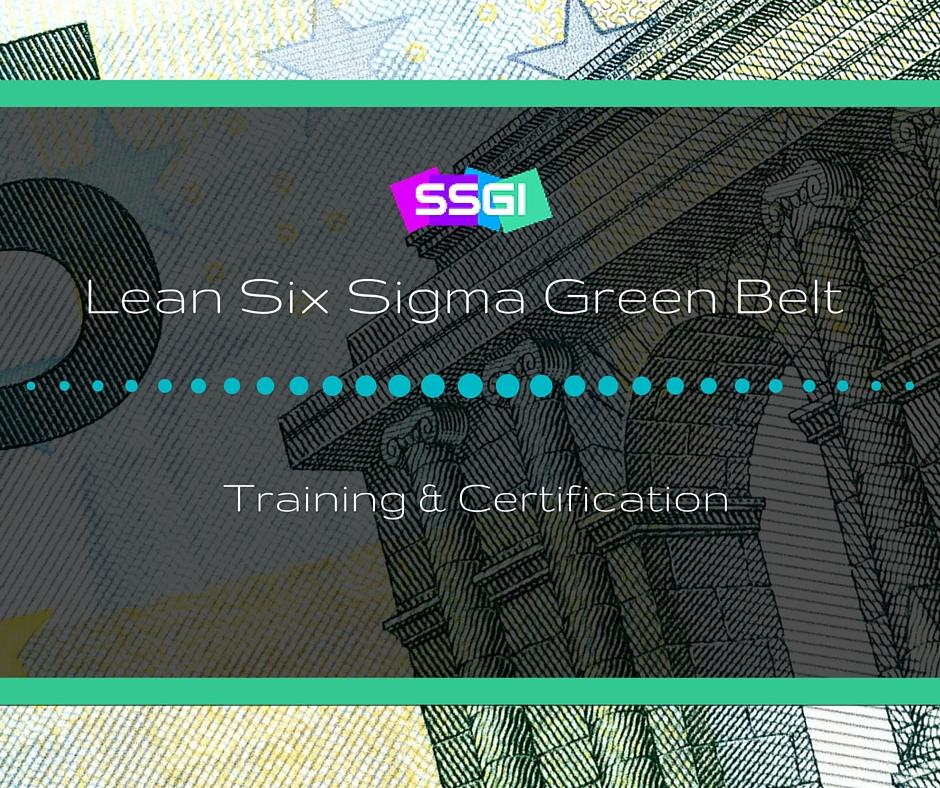 Lean Six Sigma Training & Certification