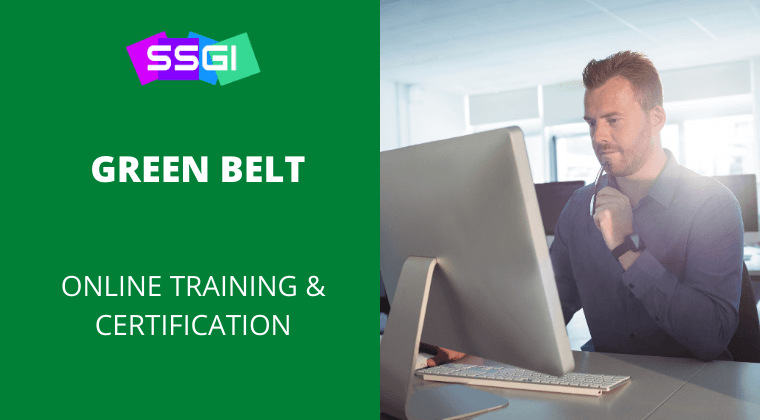 SSGI green belt six sigma certification